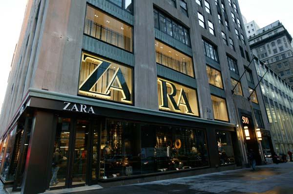 Tienda Zara en Nueva York.