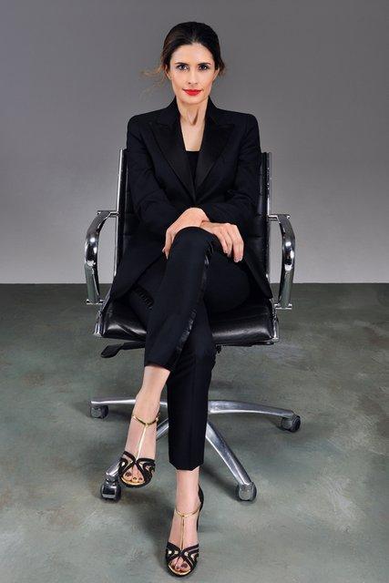 Livia Firth viste con moda ecológica a Lily Cole, Elisabeth Montgomery y Erin O'Connor