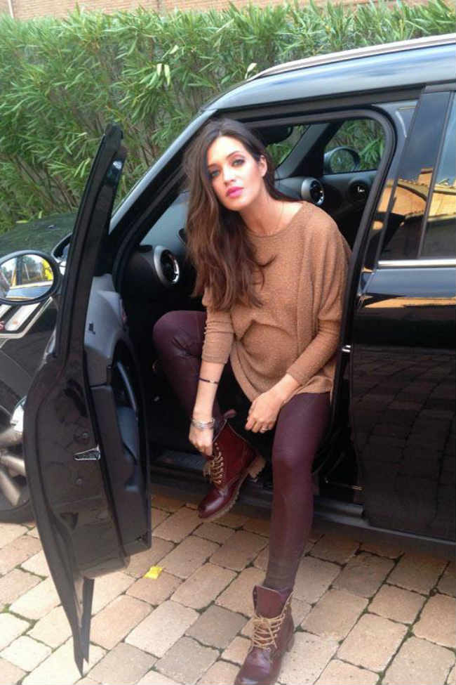Ariadne Artiles imagen Alpe Shoes ss14