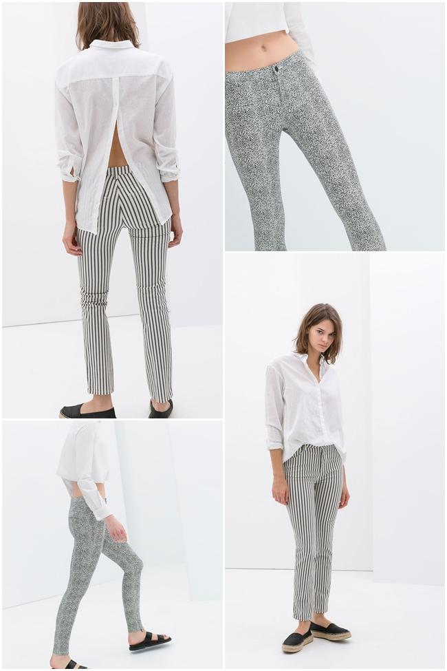 Nuevo Tendencias Pantalones En Zara Trf Coleccion Primavera Verano 2014 Modalia Es