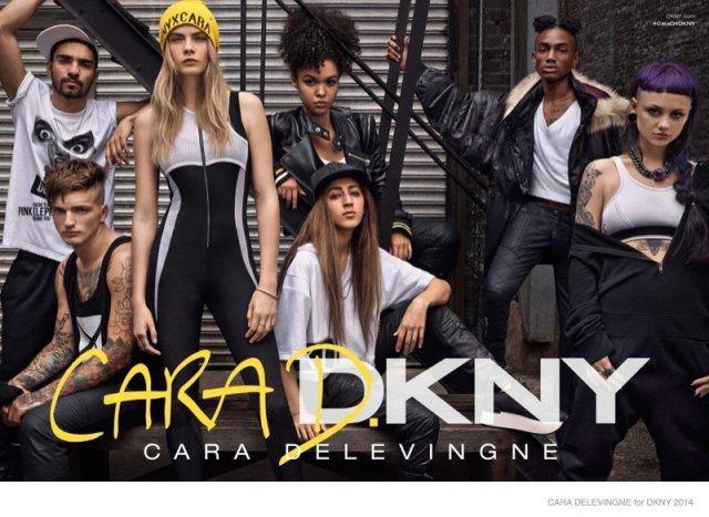 Cara Delevingne colección propia DKNY