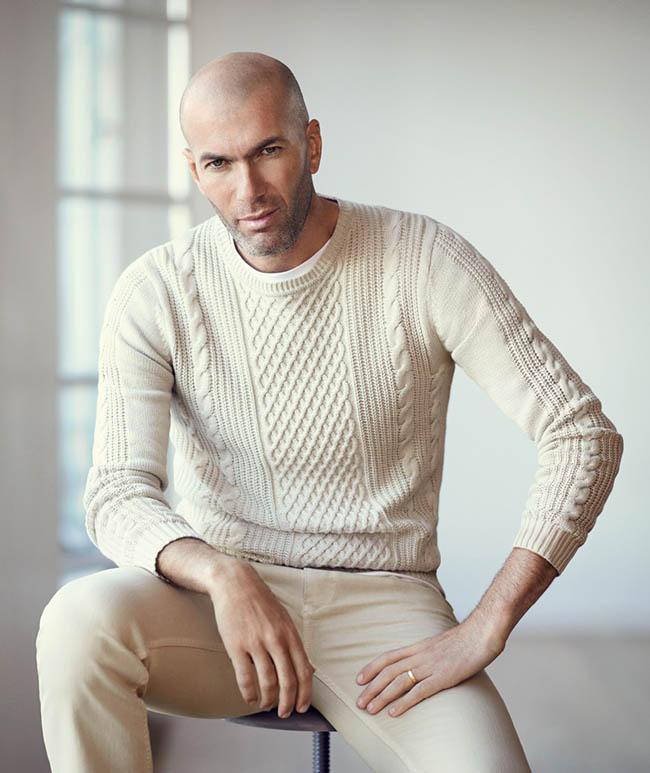 Zinedine Zidane, protagonista de la nueva campaña primavera/verano ...