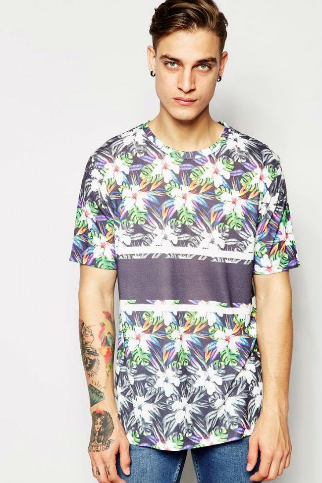 H camisetaslflorales prim2015 3