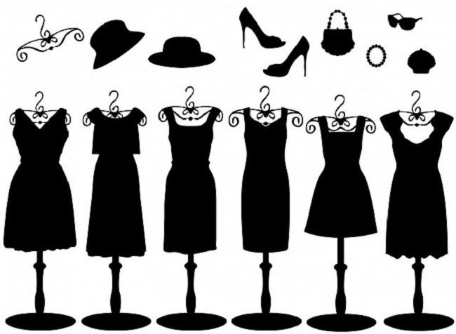 La Petite Robe Noire Guerlain cut outs Pixabay