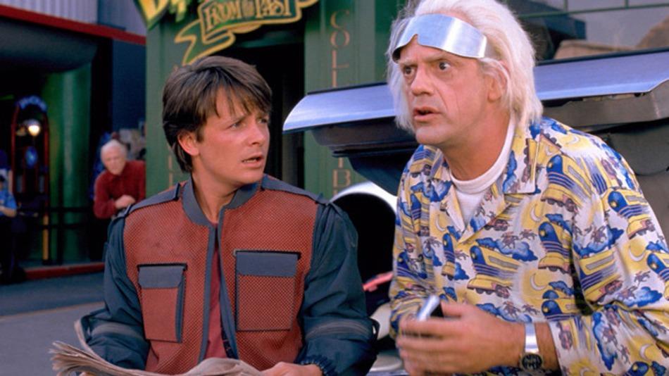 Marty Mcfly llega al futuro. Repasamos su estilismo 2