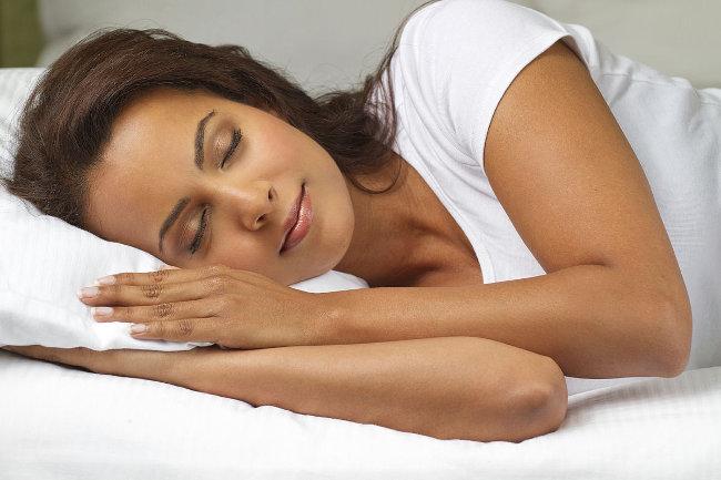 Sleep woman