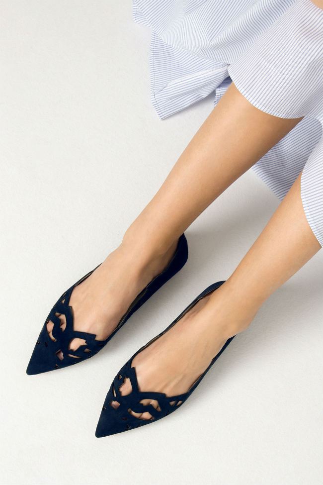 coelccion zapatos zara punta fina