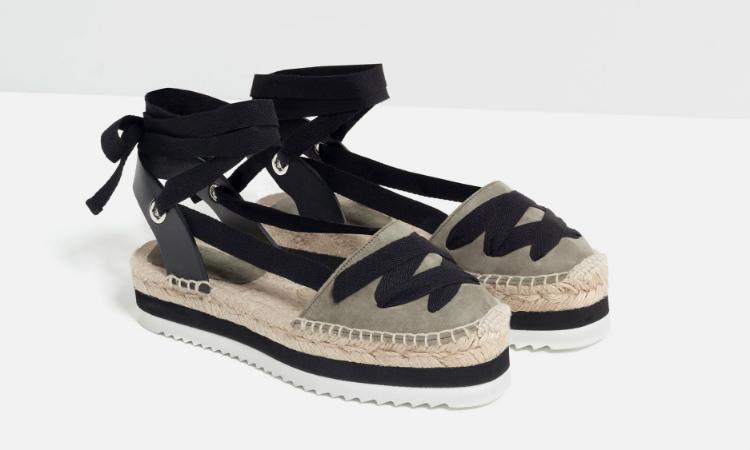 zapato tipo alpargata zara yute trenzada