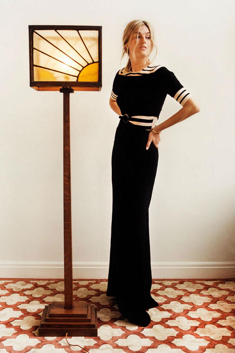 Look Vestido Top Uterque Camille Charriere