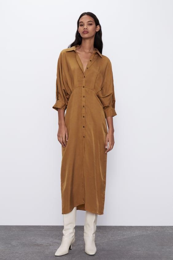 Vestido camisero Zara TOFFE - 7385/105
