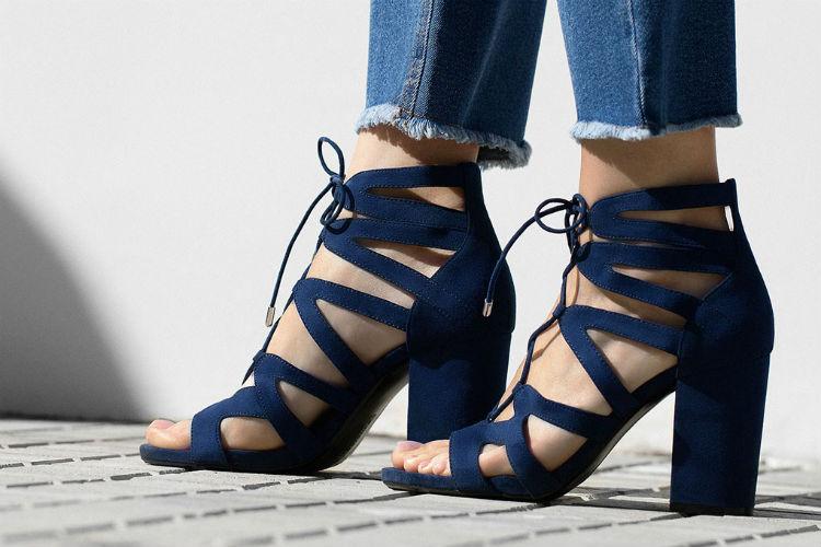 sandalias lace up tendencia