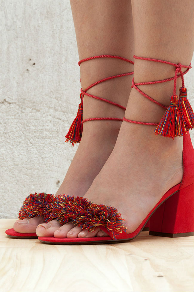 zapatos de fiesta bershka