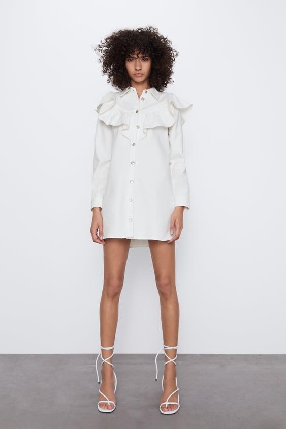 Zara, vestidos camiseros 2020, lo último Selección