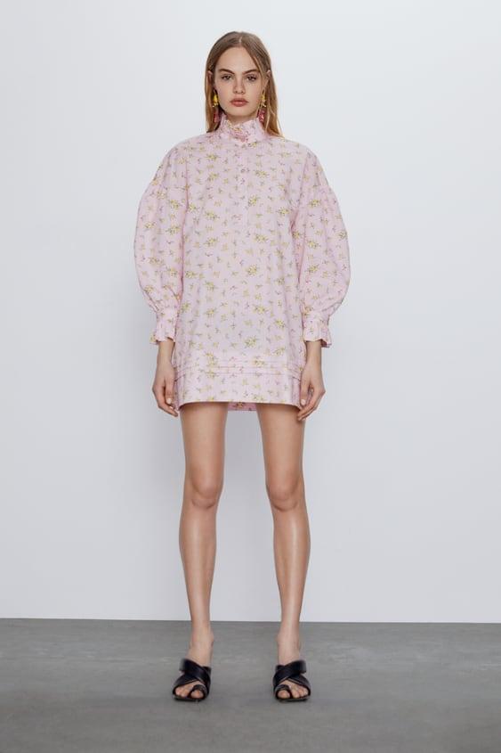 Vestido camisero Zara ROSA - 2293/131