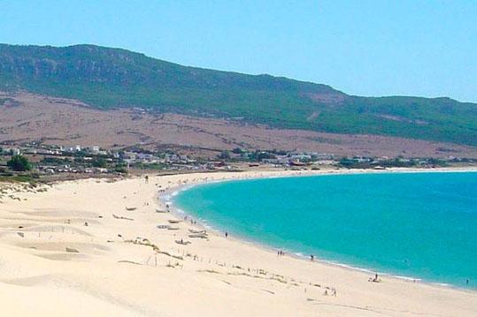 Playa dunas Bolonia Cadiz