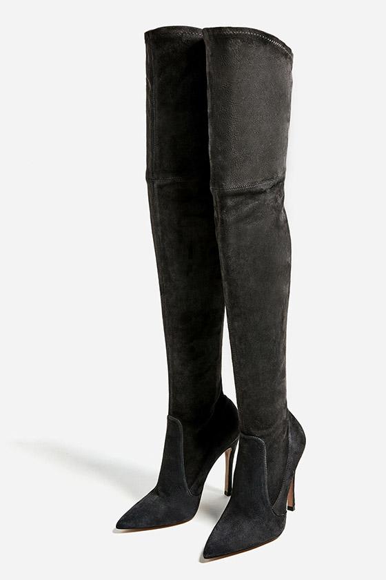 botas-XL-altas-oscuras-tacon-estrecho