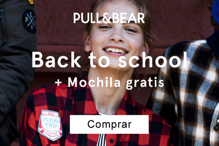comprar pull and bear regalo mochila