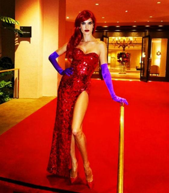 Alessandra Ambrosio Halloween
