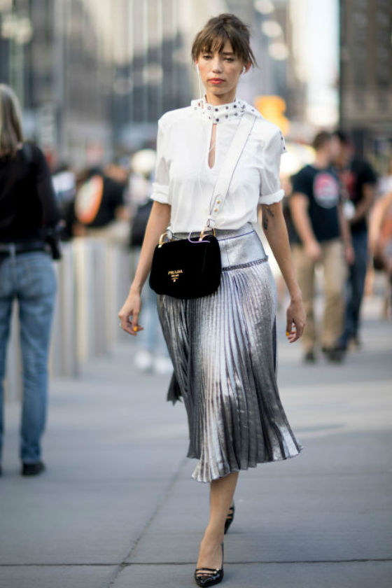 camisa blanca- New York Fashion Week
