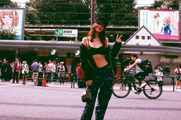 Bella Hadid Look Tokyo