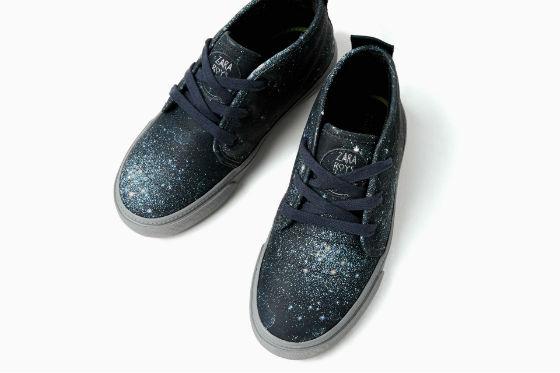 sneakers estampado estrellas zara kids invierno 2016