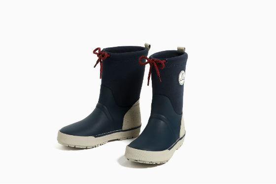botas de agua zara kids invierno 2016