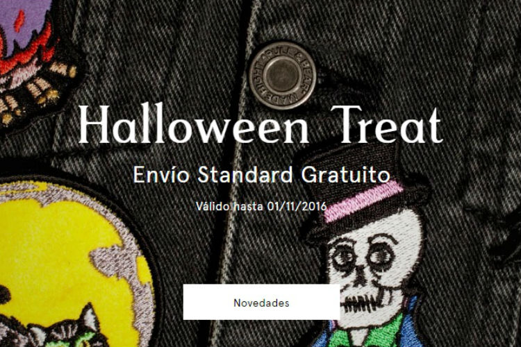 halloween treat pull&bear invierno 2016