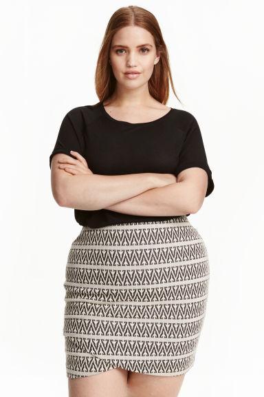 Falda Tallas grandes en H&M