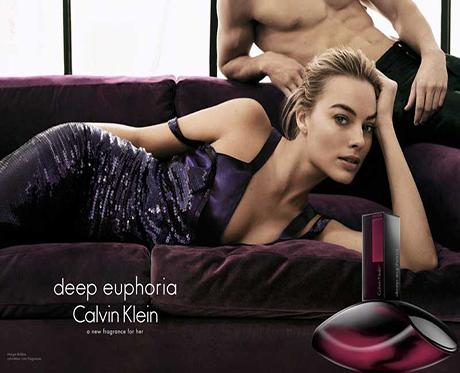 Margot Robbie campaña Deep euphoria Calvin Klein
