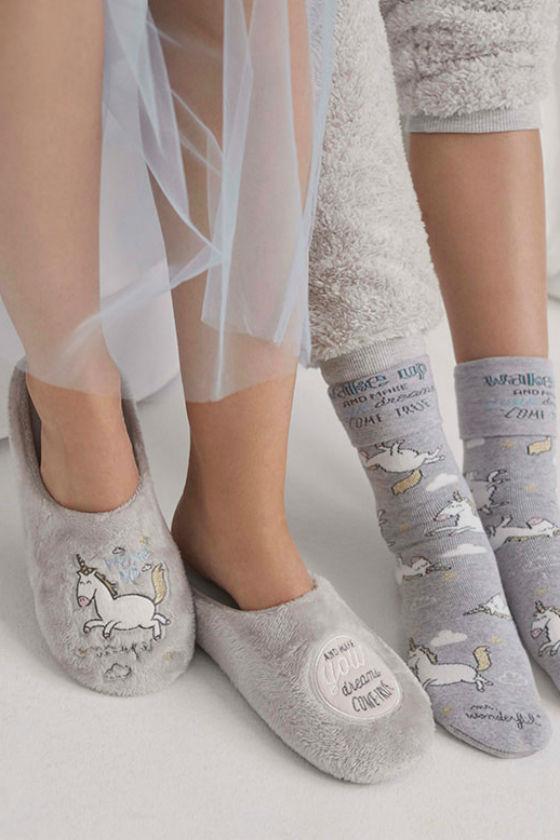 zapatillas calcetines mr wonderful for oysho
