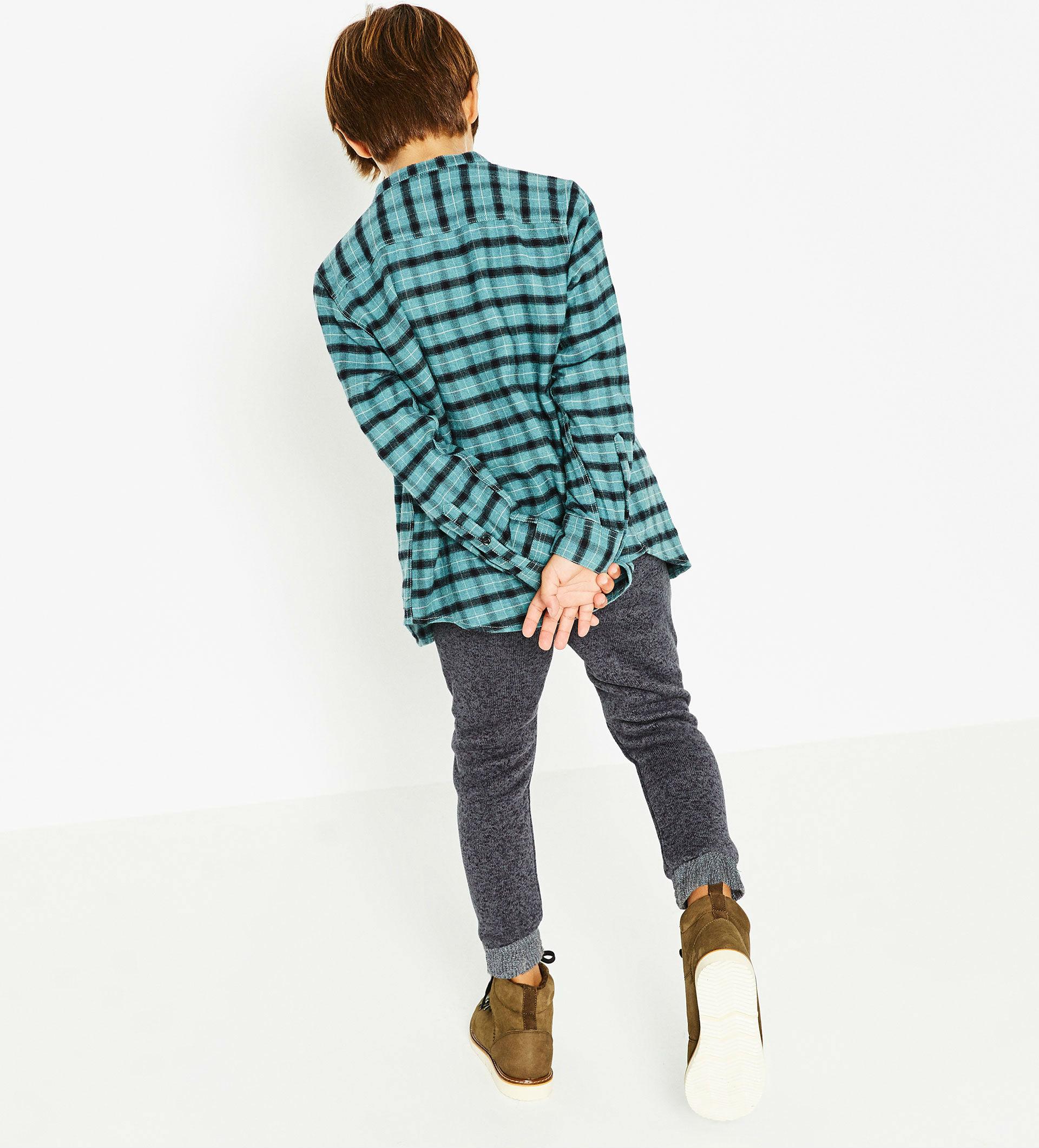 pantalon gris niño invierno 2016 zara kids