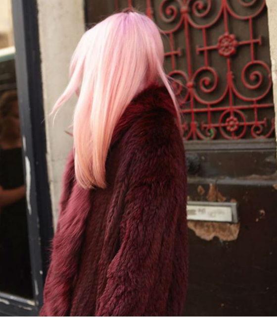 Pink platinado