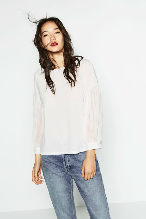 Camisa blanca ZARA