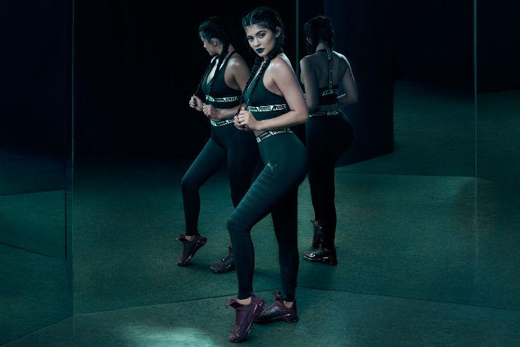 Kylie Jenner Imagen Puma Fierce