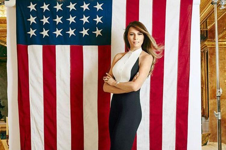 Melania Trump primera dama de Estados Unidos