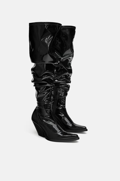 Botas Zara altas otoño 2018
