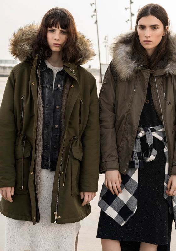 parkas pull and bear