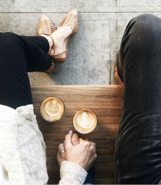 Café en parejas