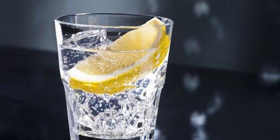 agua con gas bebida de moda