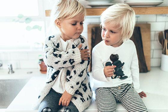Zara Kids Invierno Bebe Look 1