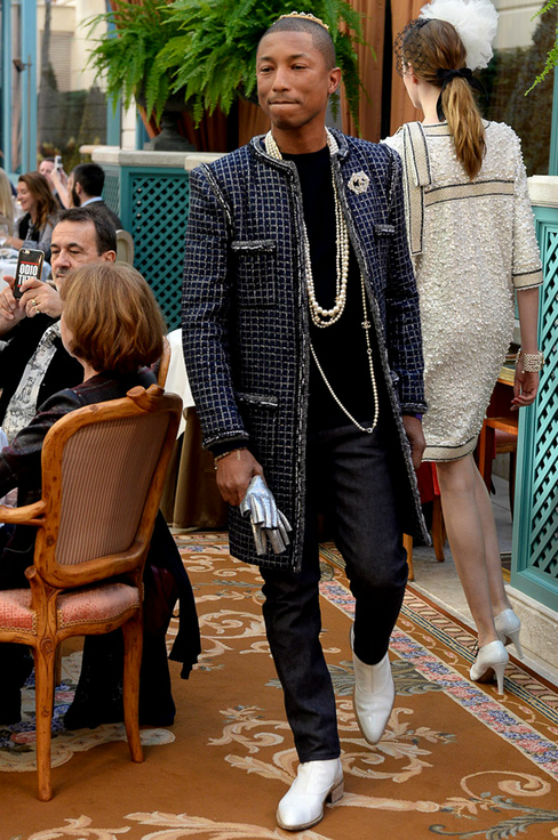 Pharrel Williams Chanel