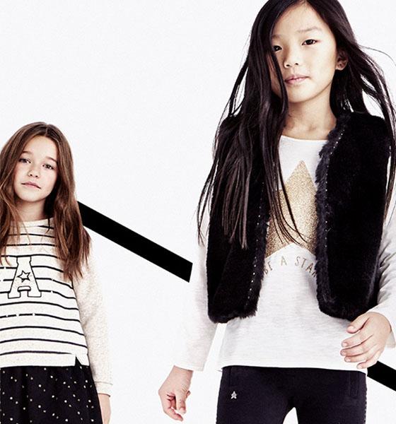 niñas ropa navidad