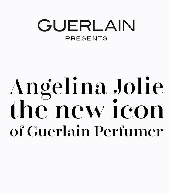 Angelina Jolie, embajadora de la firma de perfumes Guerlain