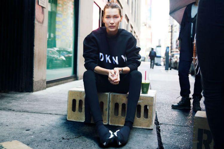 Bella Hadid nueva embajadora de la campaña DKNY