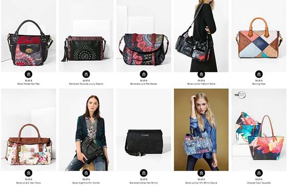 bolsos desigual mujer