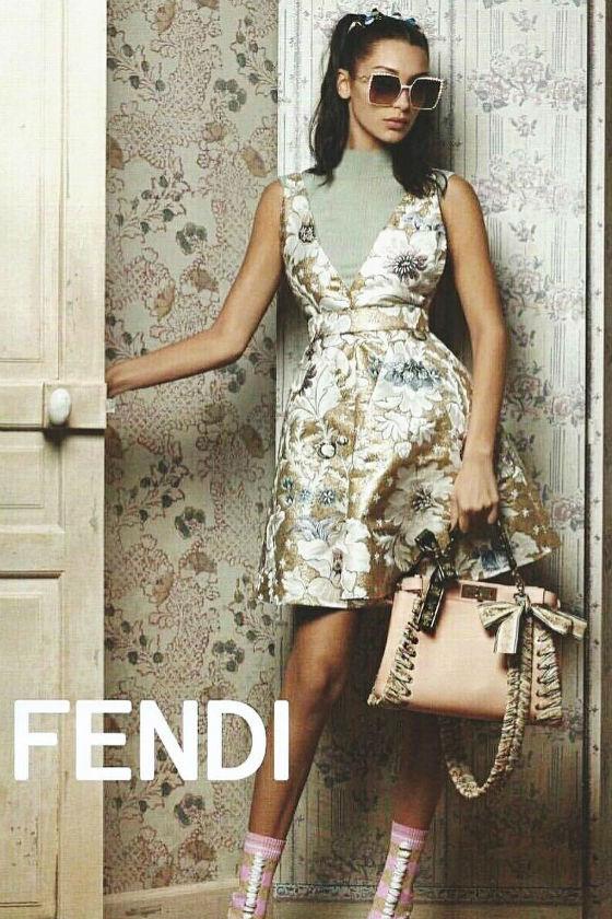 Bella Hadid protagoniza la campaña de FENDI