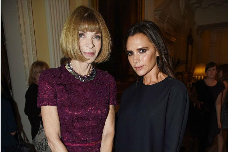 Victoria Beckham y Anna Wintour