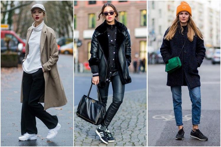 Zapatillas y abrigos