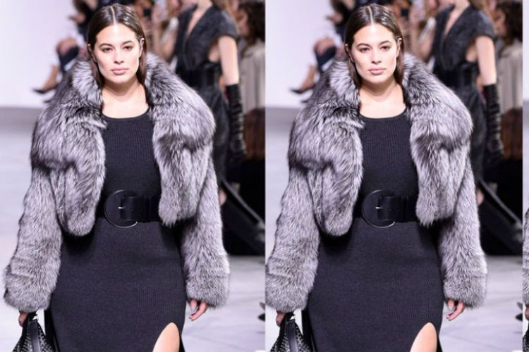 Ashley Graham la primer modelo curvy