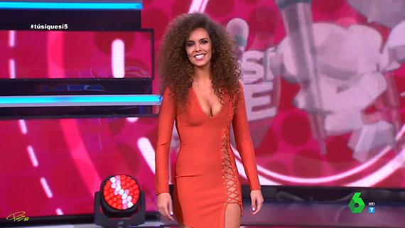 cristina pedroche vestido rojo